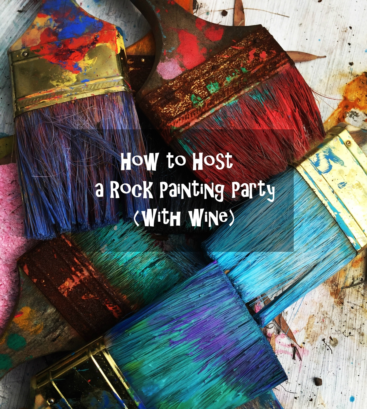 Hosting a Rock Painting Party For Adults